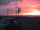 N7CFO rides off into the sunset, September 2002 VHF Contest