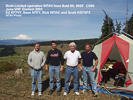 Multi-Limited operation @7AV from Bald Mtn CN96, June VHF Contest 2003