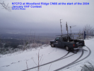 N7CFO at Woodland Ridge CN85, January VHF Contest