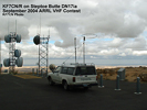KF7CN on Steptoe Butte DN17ia, Sept 2004 VHF Contest