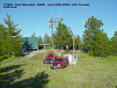 K7WIA at Goat Mountain, DN08, June 2005 VHF Contest