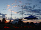 KB7ME portable in CN93pj during the June 2008 ARRL VHF Contest