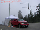 VE7IHL at Seymour Mountain BC, CN89mi, June 2008 VHF Contest