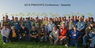 Group photo of 2014 PNWVHFS Conference in Seaside, OR